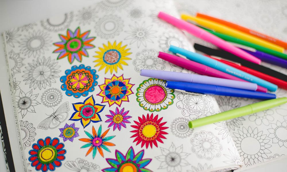Colorir Para Aliviar A Dor
