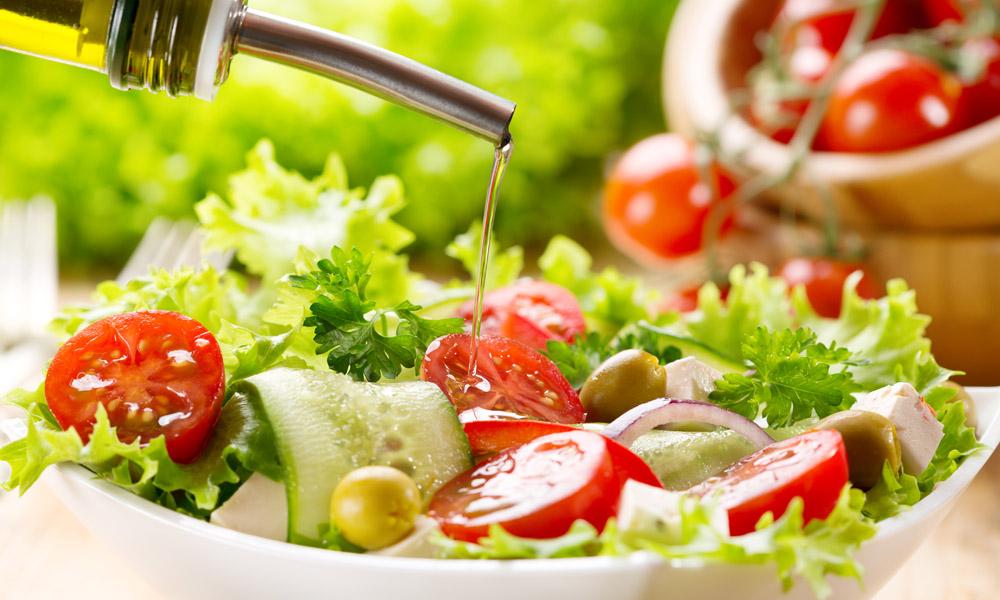 Salada E Legumes Também, Por Favor