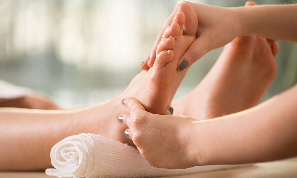 Massagem, O Toque Do Conforto E Bem-estar