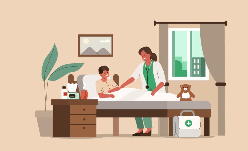 Paciente Se Recuperando Da SMD Infantil