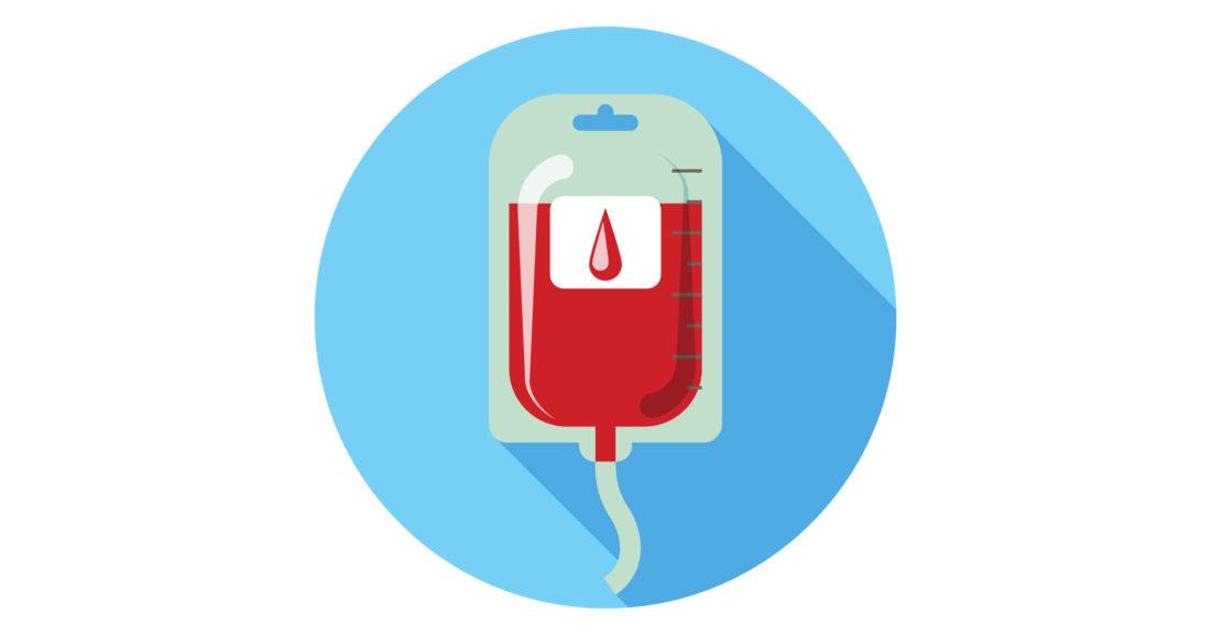 Uma Bolsa De Sangue Para Tratar A Anemia Em Pacientes Com Câncer
