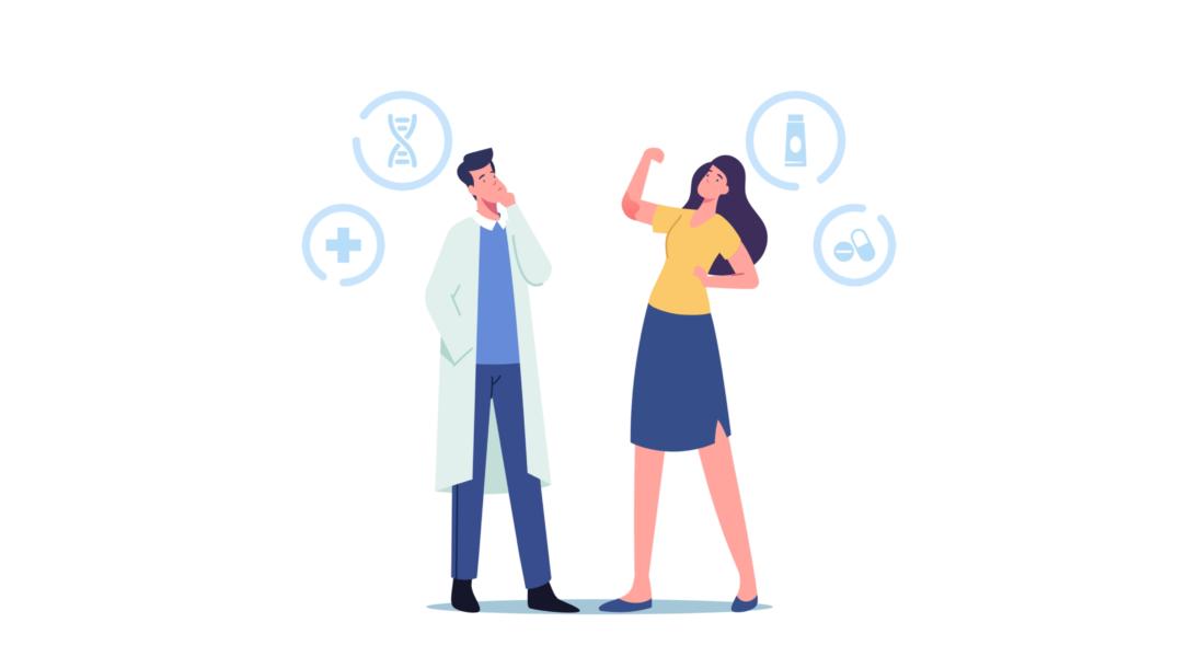 Médico Indicando Tratamento Para Doença Autoimune