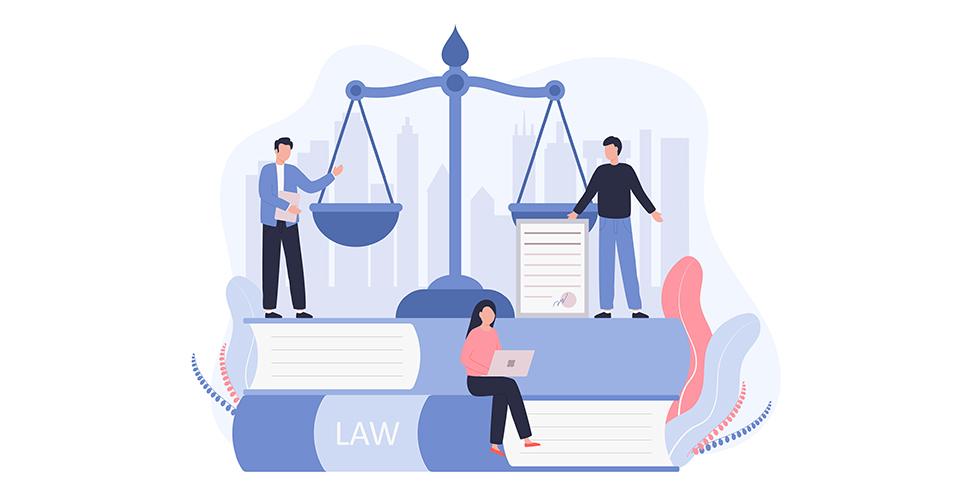 Pessoas Olhando Para Livros De Advocacia