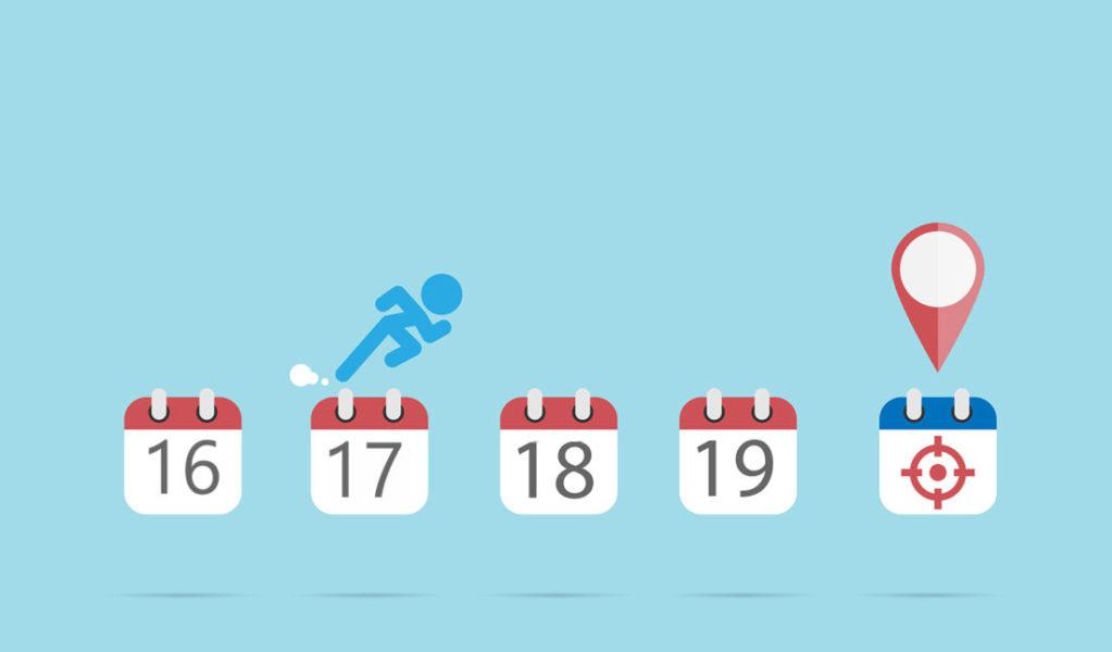 Calendários Indicando A Passagem De Anos